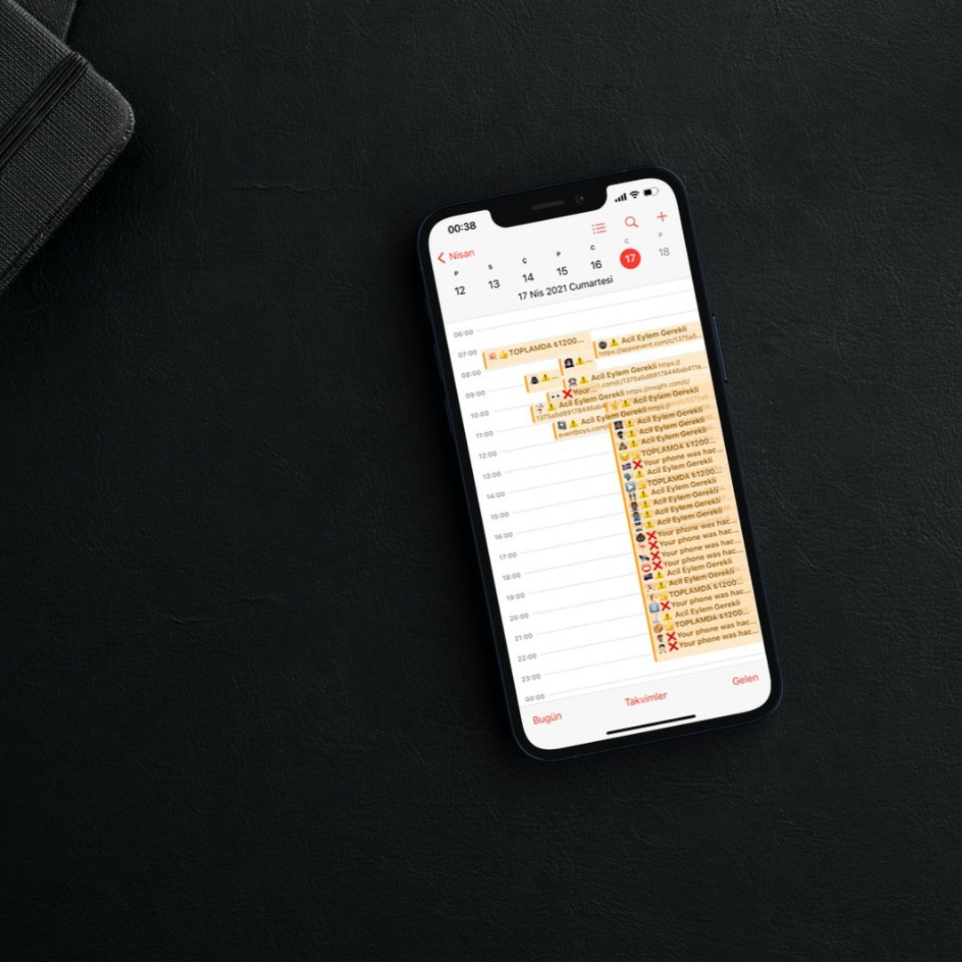 iPhone Cep Telefonlarında Takvim Spam Nasıl Kaldırılır?