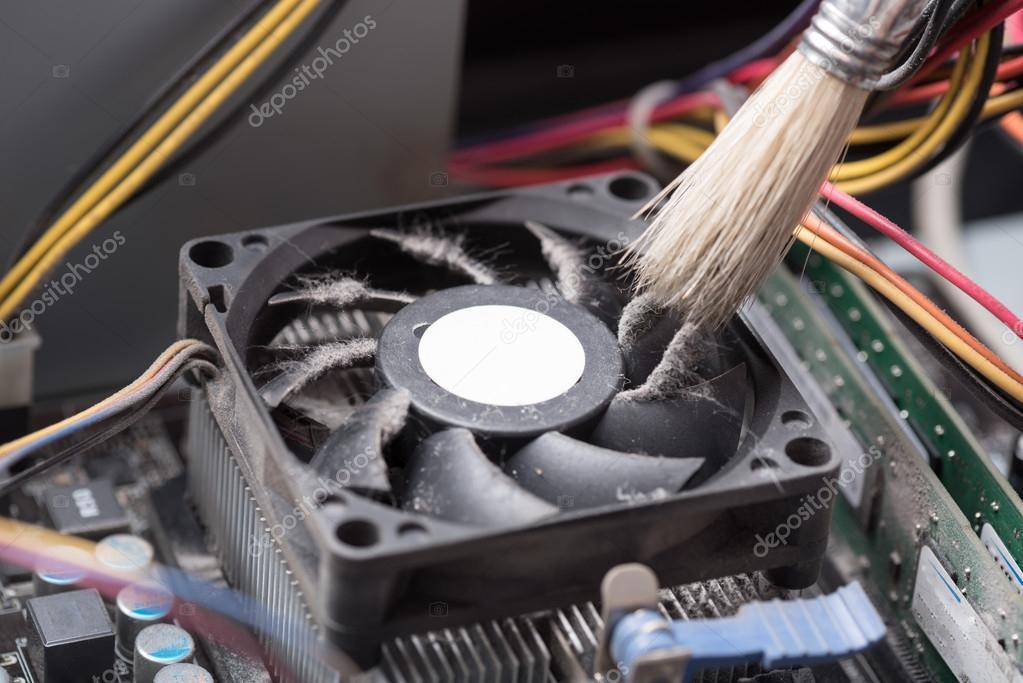 İşlemci fan temizliği