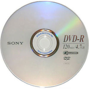 DVD-R Yazılabilir