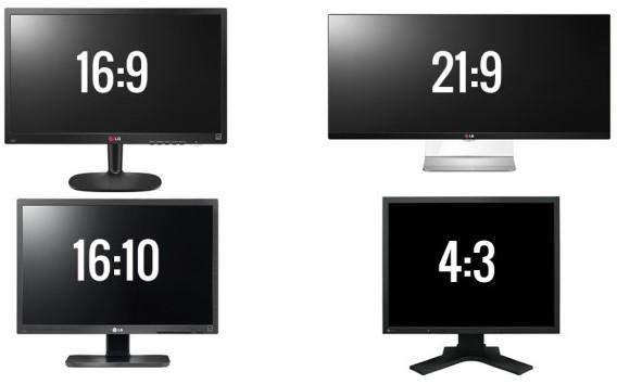Bilgisayarların en boy oranı