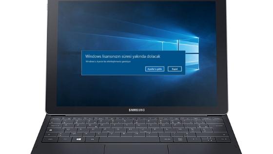 Windows Lisansınızın Süresi Yakında Dolacak