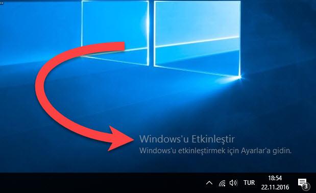 Windows 10'u Programsız Etkinleştirme   2020 Güncel