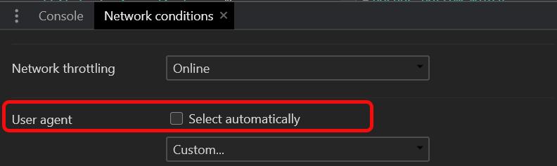 Kullanıcı bölümünün altında Otomatik Olarak Seç işaretini kaldırın
