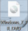 Windows 7 iso dosyası